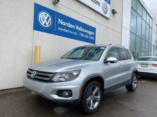 Used 2017 Volkswagen Tiguan HIGHLINE W/ R LINE WHEELS - LEATHER / SUNROOF / CERTIFIED for sale in Edmonton, AB