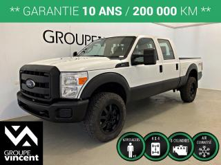 Used 2015 Ford F-350 SUPER DUTY XL 4X4 CREW CAB  ** GARANTIE 10 ANS ** Simplifier vos rénovations avec ce robuste camion! for sale in Shawinigan, QC