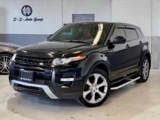 Used 2014 Land Rover Range Rover Evoque DYNAMIC|PREMIUM|NAV|RED INTERIOR|ACCIDENT FREE for sale in Oakville, ON