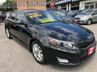 Used 2014 Kia Optima EX LUXURY for sale in Scarborough, ON