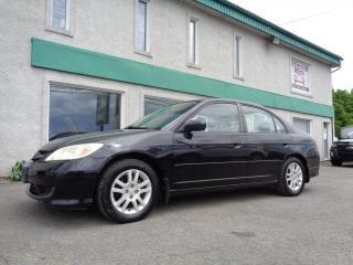 Used 2005 Honda Civic 4 portes LX-G, boîte manuelle for sale in St-Jérôme, QC