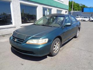 Used 2002 Honda Accord 4dr Sdn SE Auto for sale in St-Jérôme, QC
