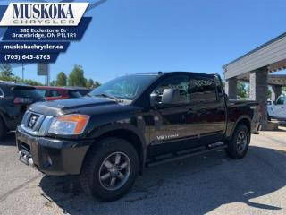 Used 2014 Nissan Titan Pro-4X for sale in Bracebridge, ON