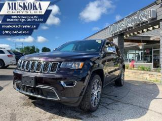 New 2020 Jeep Grand Cherokee Limited  - Leather Seats for sale in Bracebridge, ON