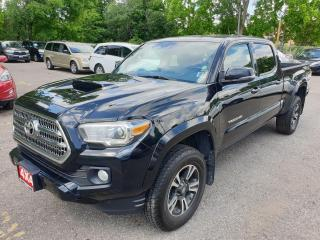 Used 2017 Toyota Tacoma TRD Sport V6 Double Cab LB 4WD for sale in Brampton, ON