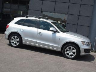 Used 2009 Audi Q5 3.2|PANOROOF|ROOF RACK|ALLOYS|LEATHER for sale in Toronto, ON
