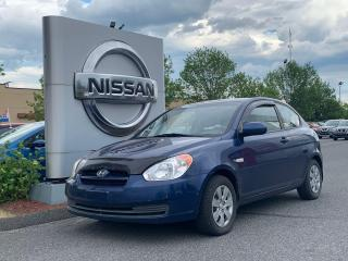 Used 2010 Hyundai Accent GL for sale in Drummondville, QC