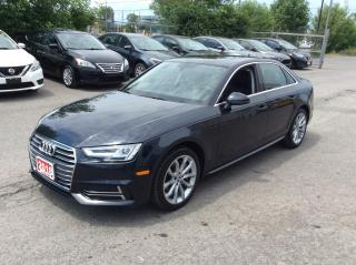 Used 2018 Audi A4 2.0 TFSI quattro Progressiv S tronic - Navigation! for sale in Ottawa, ON