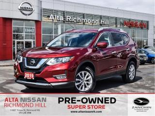 Used 2019 Nissan Rogue SV   Lane Depart.   PWR Seats   Remote Start for sale in Richmond Hill, ON