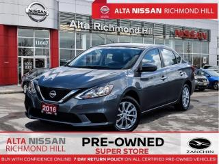 Used 2016 Nissan Sentra SV LUX PKG   Blind Spot   Pano   Remote Start for sale in Richmond Hill, ON