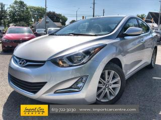 Used 2016 Hyundai Elantra Sport Appearance ALLOYS  CLOTH  HTD SEATS  BACKUP for sale in Ottawa, ON