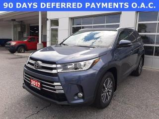 Used 2017 Toyota Highlander AWD 4DR XLE for sale in North Bay, ON