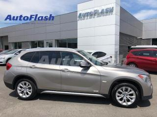 Used 2012 BMW X1 xDrive Premium *Bluetooth *GPS *Toit-Pano-Roof for sale in Saint-Hubert, QC