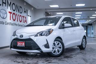 Used 2018 Toyota Yaris Hatchback 5DR HB AT LE for sale in Richmond Hill, ON
