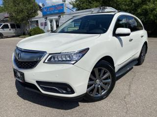 Used 2016 Acura MDX SH-AWD 4dr Elite Pkg CERTIFIED ACURA EXTENDED WARRANTY ! for sale in Brampton, ON