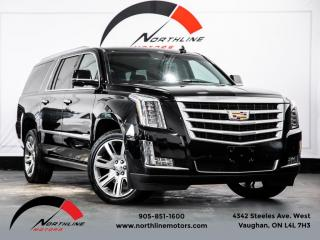 Used 2015 Cadillac Escalade ESV Premium|7 Passenger|Heads Up Disp|DVD Screen|360 Camera for sale in Vaughan, ON