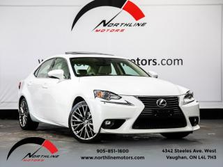 Used 2015 Lexus IS 250 AWD|Backup Camera|Heated Cooled Leather|Sunroof for sale in Vaughan, ON