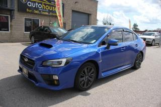 Used 2015 Subaru WRX SPORT-TECH,MANUAL,NAVIGATION,BACKUP CAMERA,PUSH START for sale in Newmarket, ON