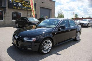 Used 2014 Audi A4 S-LINE,ONE OWNER,NAVI,PRESTIGE,PUSH START,PARKING SENSOR for sale in Newmarket, ON
