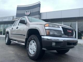 Used 2004 GMC Canyon SLE 4WD OFF-ROAD CREW CAB 3.5L 5CYL for sale in Langley, BC