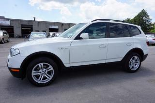 Used 2008 BMW X3 3.0si Panoramic Roof Certified 2 YEAR Warranty for sale in Milton, ON