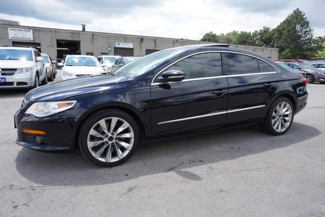 2010 Volkswagen Passat CC V6 AWD HIGHLINE CERTIFIED 2YR WARRANTY SUNROOF BLUETOOTH HEATED LEATHER ALLOYS