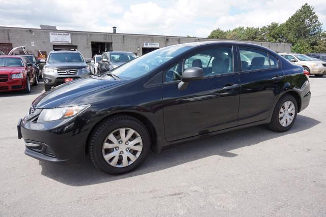 2013 Honda Civic DX 5SPD ECON CERTIFIED 2YR WARRANTY *FREE ACCIDENT* AUX