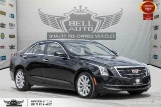 Used 2017 Cadillac ATS Sedan AWD, NO ACCIDENT, REAR CAM, SUNROOF, LEATHER for sale in Toronto, ON