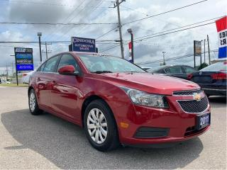 Used 2011 Chevrolet Cruze LT Turbo Auto, A/C, Bluetooth for sale in Caledonia, ON