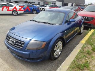 Used 2003 Audi TT 2dr Cpe FrontTrak FWD Auto for sale in Beauport, QC
