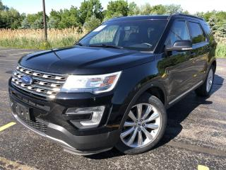Used 2017 Ford Explorer Limited FWD for sale in Cayuga, ON