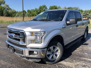 Used 2016 Ford F-150 XLT Crew Cab 4X4 for sale in Cayuga, ON