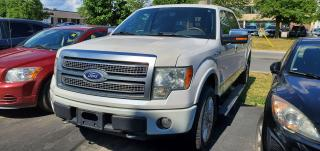 Used 2010 Ford F-150 4WD SuperCrew 157  Platinum for sale in Scarborough, ON