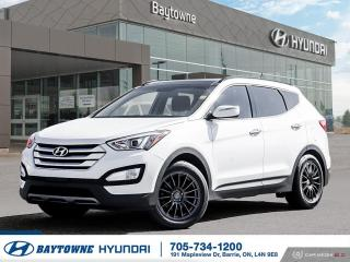 Used 2016 Hyundai Santa Fe Sport AWD 2.0T Limited for sale in Barrie, ON