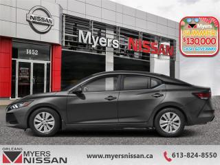 New 2020 Nissan Sentra S Plus CVT  - Heated Seats - $141 B/W for sale in Orleans, ON