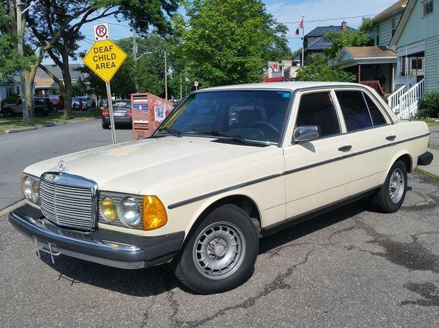 1984 Mercedes-Benz 300 Series 300D-TurboDiesel Rust Free-Florida Car Winter Stored Super Nice!!!