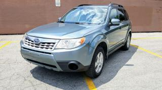 Used 2011 Subaru Forester Manual Transmission / No Accident Reported for sale in Scarborough, ON