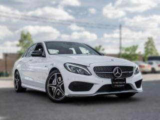 Used 2017 Mercedes-Benz C-Class AMG C 43 I Premium LED I Loaded I CLEAN CARFAX for sale in Toronto, ON
