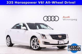 Used 2018 Cadillac ATS Sedan Premium Luxury AWD *Low KM Local Trade* for sale in Winnipeg, MB