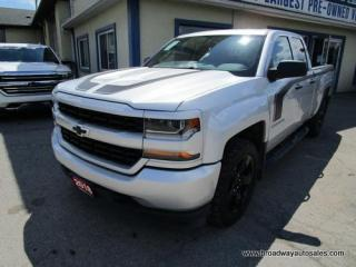 Used 2018 Chevrolet Silverado 1500 LIKE NEW LS EDITION 6 PASSENGER 5.3L - VORTEC.. 4X4 SYSTEM.. QUAD-CAB.. SHORTY.. BACK-UP CAMERA.. BLUETOOTH SYSTEM.. USB/AUX INPUT.. for sale in Bradford, ON