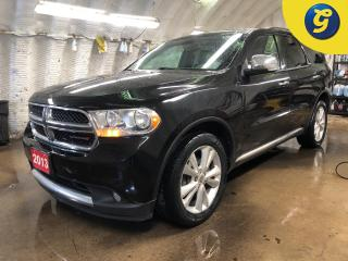 Used 2013 Dodge Durango CREW PLUS AWD * 7 Passenger * Navigation * Rear DVD player * Power sunroof * Leather interior * Park assist * Power rear lift gate * for sale in Cambridge, ON