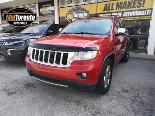Used 2011 Jeep Grand Cherokee Limited | 4x4 | Nav | V8 | Power Roof | Leather for sale in North York, ON