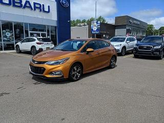 Used 2017 Chevrolet Cruze LT Manual for sale in Charlottetown, PE