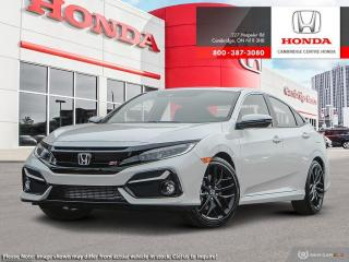 New 2020 Honda Civic Si si for sale in Cambridge, ON