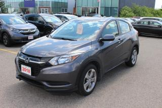 Used 2018 Honda HR-V Accident Free, One Owner HR-V LX FWD! Certified Powertrain Warranty Until 03/06/2025 or 160,000KM! for sale in Waterloo, ON