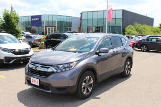 Used 2018 Honda CR-V Accident Free, One Owner CR-V LX FWD! Honda Certified Powertrain Warranty 01/03/2025 or 160,000KM! for sale in Waterloo, ON