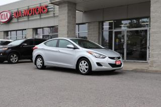 Used 2013 Hyundai Elantra GL HEATED SEATS | SATELLITE RADIO | BLUETOOTH for sale in Cobourg, ON