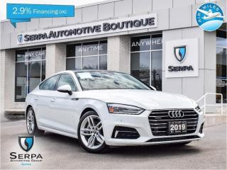 Used 2019 Audi A5 45 Komfort COVID-19 INSTANT CREDIT, SEE DEALER FOR DETAILS | NO PAYMENTS FOR 90 DAYS OAC for sale in Aurora, ON
