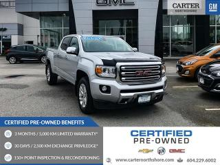 Used 2016 GMC Canyon SLT LEATHER - TRAILERING PACKAGE - HEATED SEATS - KEYLESS for sale in North Vancouver, BC