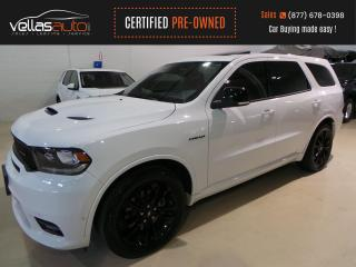 Used 2020 Dodge Durango R/T HEMI| NAVI| BLACK TOP| 7PASS| SUNROOF for sale in Vaughan, ON